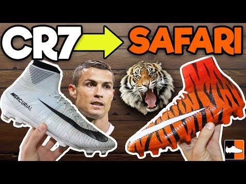 How To Make CR7 Safari Superfly Football Boots!