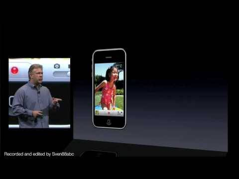 Phil Schiller debuts the iPhone 3GS