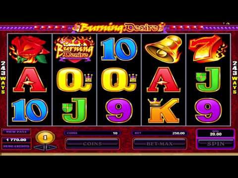 FREE Burning Desire  ™ slot machine game preview by Slotozilla.com