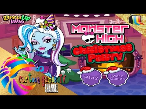 Monster High Christmas Party: party games.