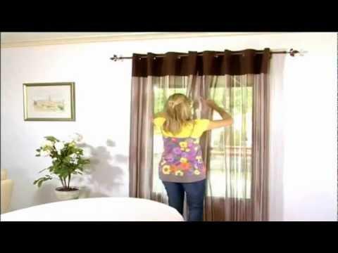 comment installer rideau et double rideau