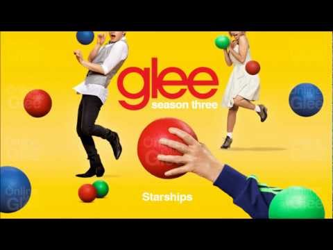Tekst piosenki Glee Cast - Starships po polsku