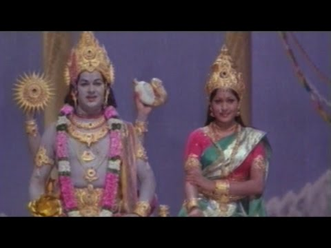 Sree Vinayaka Vijayamu Movie || Gods Ask Lord Shiva to Save Them || Krishnam Raju