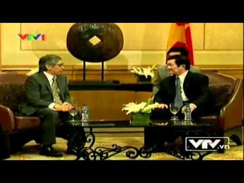 Ông Trương Tấn Sang tiếp chủ tịch ADB và bộ trưởng năng lượng Philippines