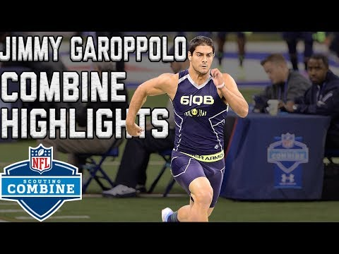 Video: Jimmy Garoppolo's 2014 Scouting Combine Workout | NFL Highlights