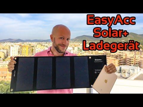 EasyAcc Solar+ Ladegerät im Test | iDomiX