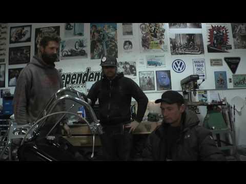 Custom Motorcycle Project Episode 1 – Ryan Stiles Celebrity Golf Classic