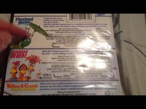 Dreamworks DVD Triple Feature Unboxing (frustration With Amazon)