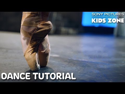 CENTER STAGE ON POINTE: Dance Tutorial | Sony Pictures Kids Zone #WithMe