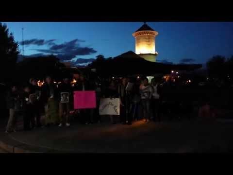 Vigil for SANG Pediatrics shooting victim
