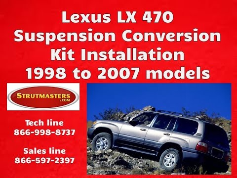 1998-2007 Lexus LX 470 With A Strutmasters Air Suspension