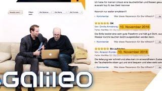 Video So erkennst du gefälschte Kundenbewertungen bei Amazon | Galileo | ProSieben MP3, 3GP, MP4, WEBM, AVI, FLV Juli 2018