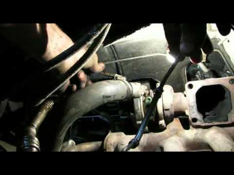 Установка турбины на форд транзит 2.2 снимок