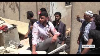 7شهداء وعدد من الجرحى في قصف على بلدات ريف دمشق