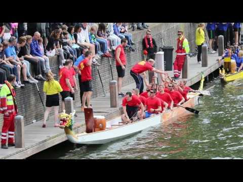 Drakenbootrace team 'Duikboot Enterprise', Gorinchem 2017