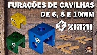 Kit Gabarito para Cavilhas - Zinni Gabaritos