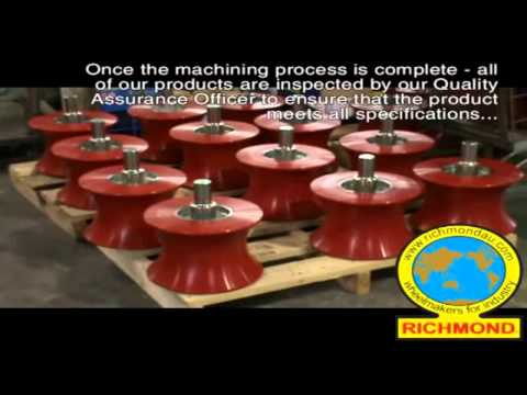 The Manufacture of Pipeline Rollers