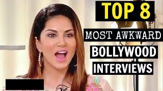 Video TOP 8 Most Awkward & Embarrassing Bollywood Interviews MP3, 3GP, MP4, WEBM, AVI, FLV Maret 2018