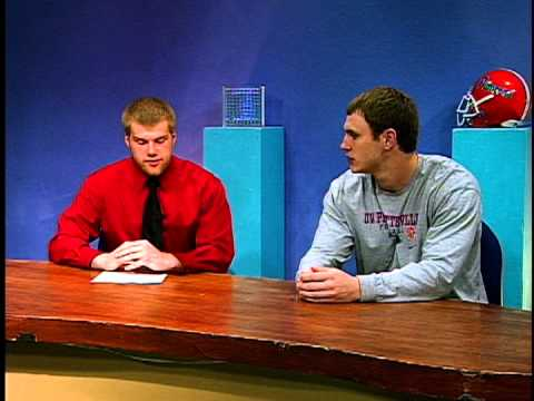 UW-Platteville TV 5 talks with Ryan McWethy