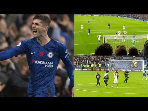 CHRISTIAN PULISIC SCORES AGAIN! || CHELSEA 2-0 CRYSTAL PALACE || MATCH VLOG