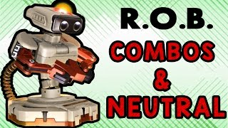 R.O.B. Combos & Neutral ft. 8BitMan by MSC