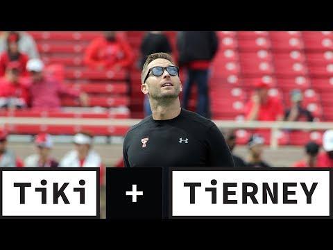 Video: Kliff Kingsbury Interviews For NFL Jobs | Tiki + Tierney