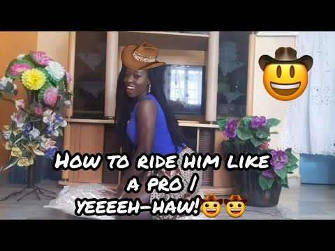How to ride him like a pro! | Basic steps |