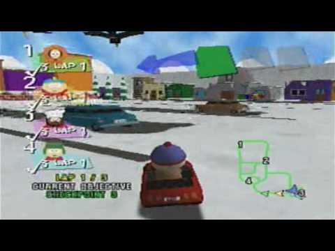 South Park Rally Nintendo 64