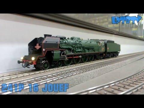 Locomotive vapeur 241-P-16 SNCF 1950 HO Neuf en boite 30 cm train rail
