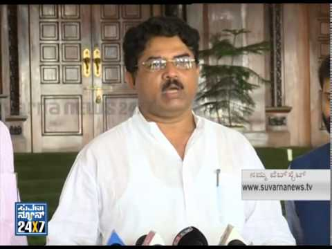 R. Ashok talks about protest against crime  - News bulletin 21 Jul 14