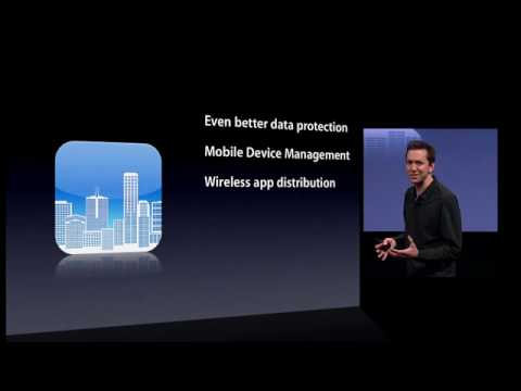 Apple iPhone OS 4.0 : Enterprise Features