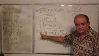 Algebra Intermedia - Lección 3 - B (multiplicación Y División De Radicales)