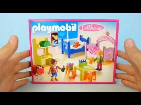 Buntes Kinderzimmer 5306 auspacken Playmobil Puppenhaus seratus1 Dollhouse