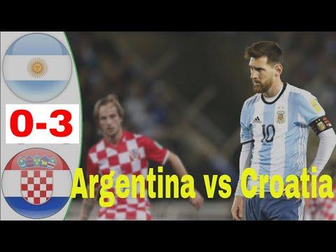 CROATIA VS ARGENTINA 3-0 ALL GOALS AND HIGHLIGHTS EXTENDED..L. 21/06/18