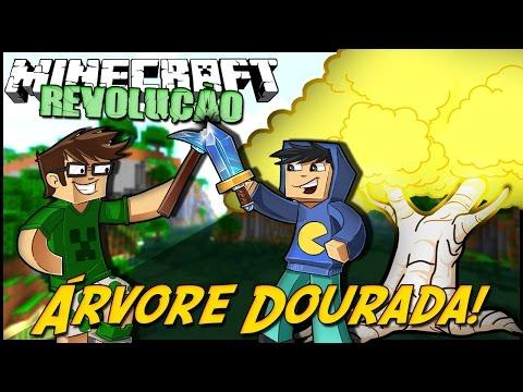 Minecraft: A REVOLUÇÃO - ÁRVORE DOURADA! #10