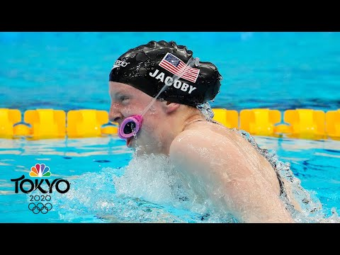 Great Britain wins first-ever Olympic mixed medley relay; USA fifth | Tokyo Olympics | NBC Sports