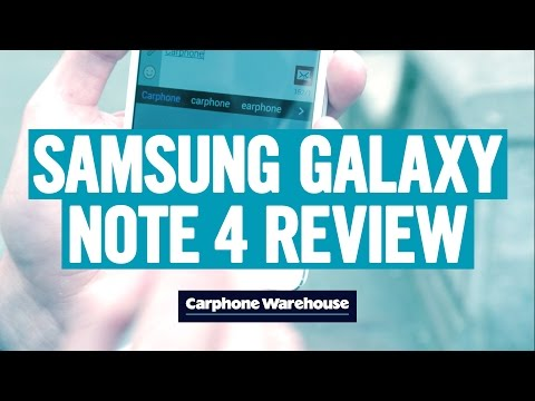 samsung - The new Samsung Galaxy Note 4 is the most powerful smartphone in the world right now. So we've gone hands on with one to show you what that extra power brings in our complete Note 4 review....