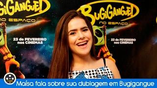 Maísa fala sobre sua dublagem em Bugigangue no Espaço
