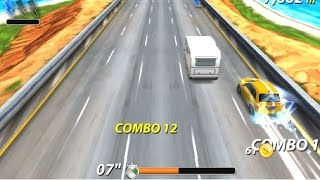 Here's the gameplay from the 'On the Run' game from Miniclip gaming website. I did quite well in my opinion and sharing the video with you. In this game, you have to control a car, avoid traffic, get to checkpoints on time, destroy cop cars and a lot more. Liked the game overall. Not a perfect game but a good one. Link to play: http://www.miniclip.com/games/on-the-run/