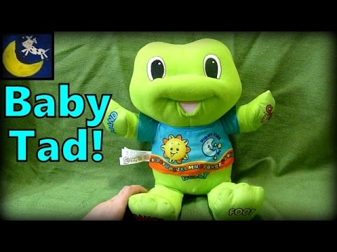LeapFrog Learning Baby Tad Plush Toy Review