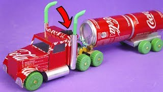 Video AMAZING COCA-COLA TRUCK MADE WITH ALUMINUM CANS AND DC MOTOR MP3, 3GP, MP4, WEBM, AVI, FLV Oktober 2018