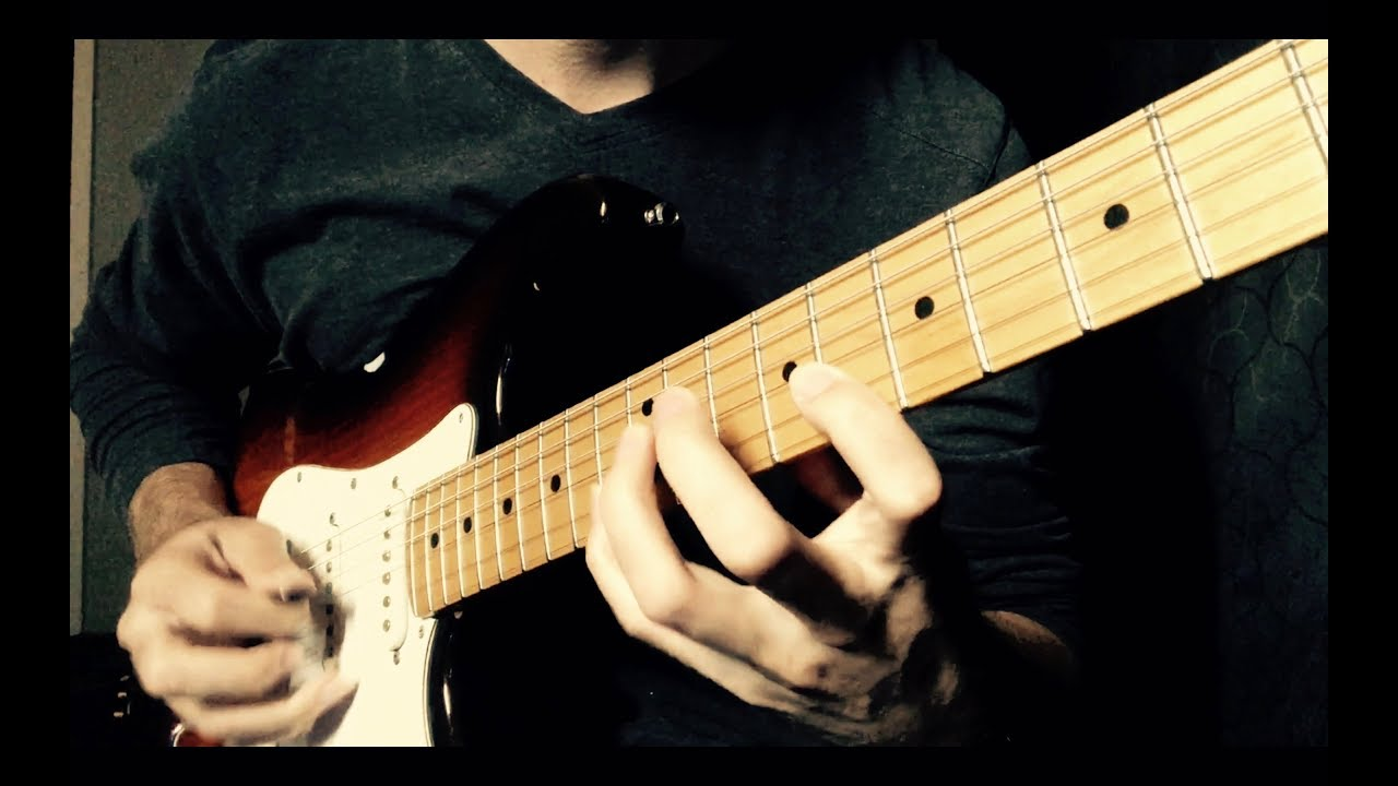 Recording electric guitar tracks in the studio! (Instrumental Project)