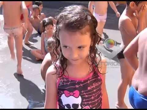 Imagens de calor - Escolas de Uberlândia buscam alternativas para amenizar o calor da garotada