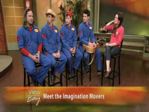 Imagination Movers Interview on San Fran news. 2-10-09