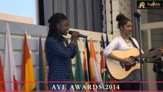 Duet with Precious & Celine Love @ AYE AWARDS -IHK HAMBURG