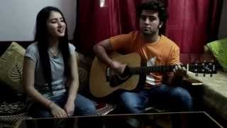 Muskurane ki wajah cover by Surbhi Rajput with Rudra Rajput as guitarist