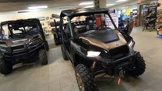 9. 2019 POLARIS General 1000 with  Ride Command walk around and Ride Review