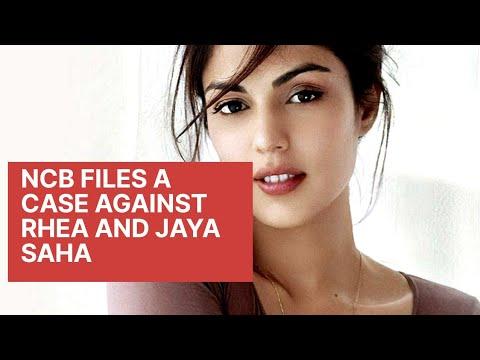 NCB Files a case against Rhea Chakraborty and Jaya Saha l