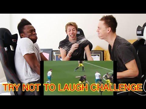 TRY NOT TO LAUGH w/Caspar Lee (видео)