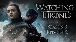 GAME OF THRONES | S8E2 'A Knight of The Seven Kingdoms' | WATCHING THRONES by Clevver Movies